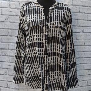 Calvin Klein women's blouse size L